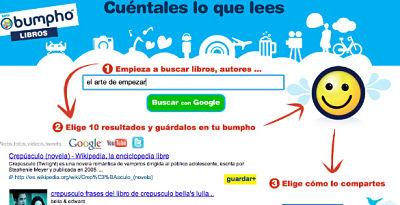 red social libros Bumpholibros