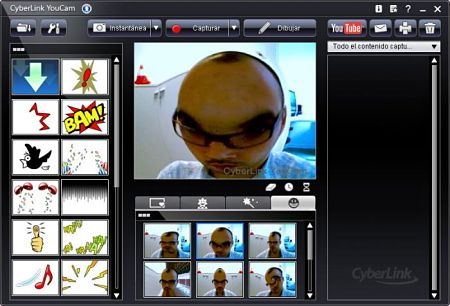 CyberLink YouCam efectos webcam