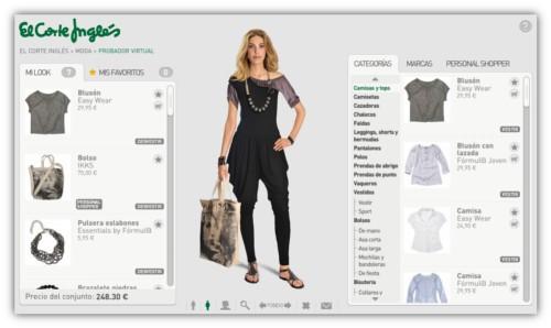 probador virtual el corte ingles ropa moda