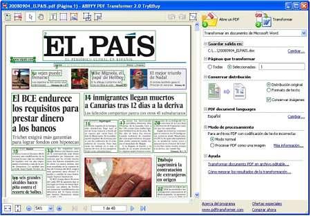abby pdf transformer convertir archivos pdf