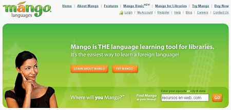 aprender hablar ingles online mango languages
