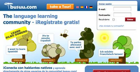 aprender idiomas online busuu