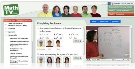 aprender matematicas con videos mathtv.com