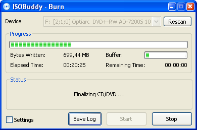 convertir grabar iso isobuddy