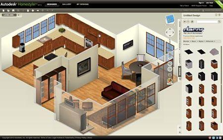 diseñar casas online autodesk homestyler