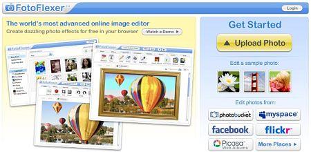editar imagenes online fotoflexer