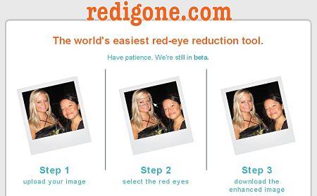 eliminar ojos rojos fotos red igone