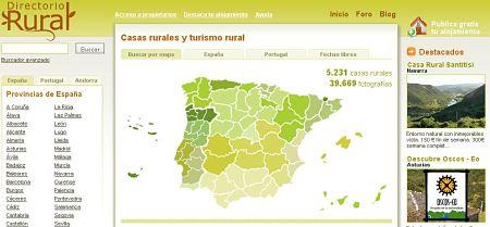 casas rurales directorio rural
