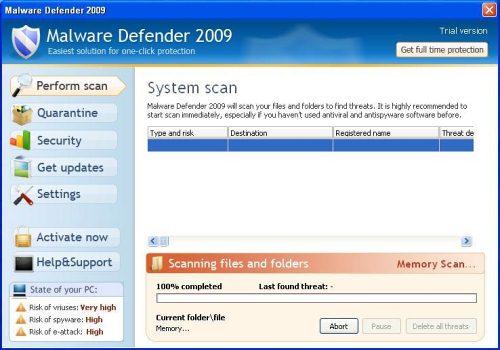 malware defender controlar programas que acceden pc