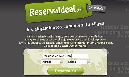 reservaideal reservar hoteles alojamientos baratos