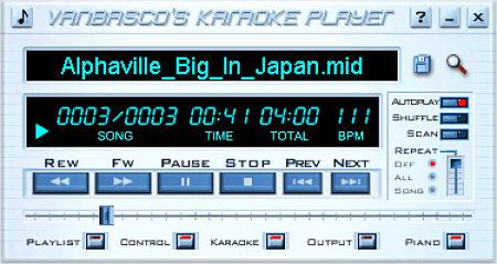 VanBasco karaoke Player cantar karaoke