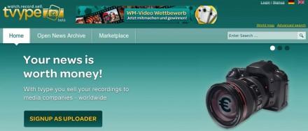 vender comprar fotos videos paypal tvype