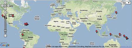 Earthquake Timeline terremotos planeta
