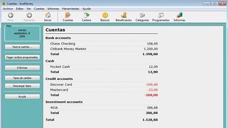 acemoney gestionar finanzas personales
