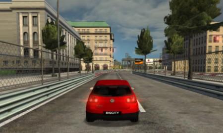 Big City racer juego de carreras