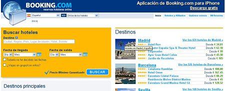 booking.com hoteles reservar