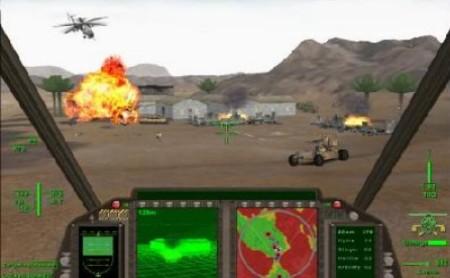 comanche gran similador de helicópteros