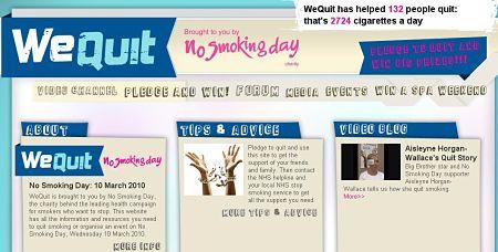 dejar de fumar red social wequit