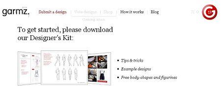 diseñar ropa vender internet garmz