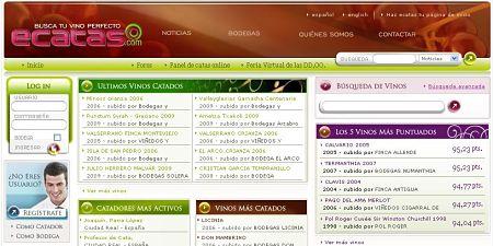 ecatas.com vinos catas bodegas botellas