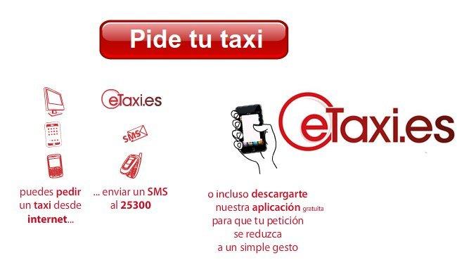 eTaxi pedir taxi internet movil