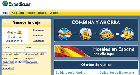 expedia.es viajes hoteles vuelos baratos