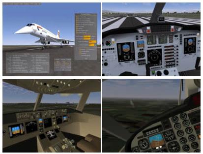 FlightGear simulador aviones pc gratis