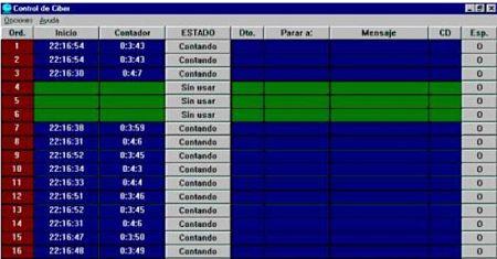 gestionar cibercafes control de ciber programa