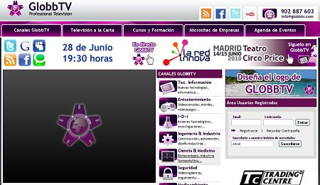 GlobbTV television online profesional