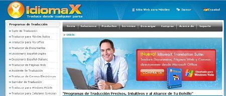 idiomax traductor online gratis