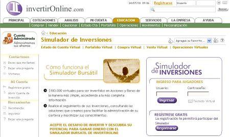 juego bolsa simulador bursatil invertir online