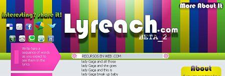Lyreach letras canciones lyrics