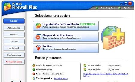 pc tools fireall plus proteger conexion internet pc