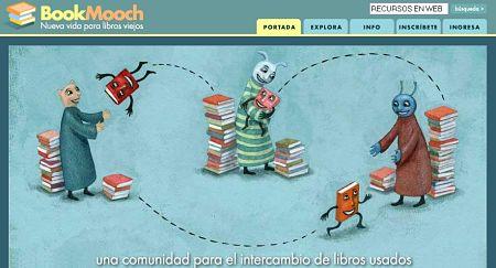 BookMooch intercambio libros usados