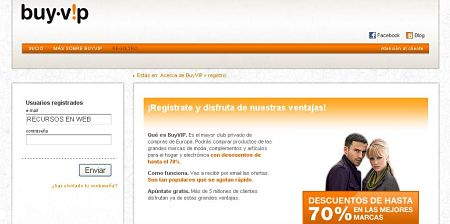 BuyVip ropa de marca a precio de outlet