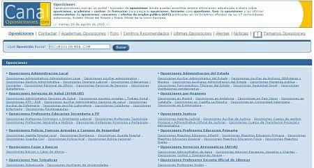 CanalOposiciones temarios oposiciones empleo publico convocatorias