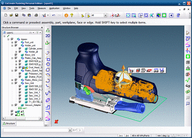 Cocreate modeling programa para crear dise os en 3d for Programas para diseno 3d