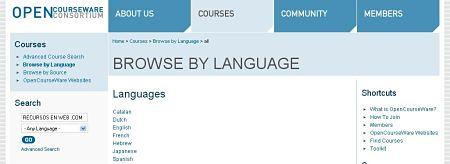 cursos gratis online universidades ocw consortium