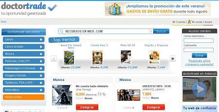 Doctortrade tienda online comprar vender productos nuevos segunda mano