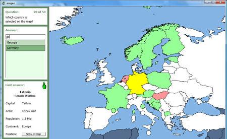 Enigeo juego pc geografia politica