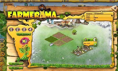 farmerama juego online gratis crear granja