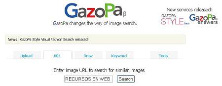gazopa buscador imagenes similares