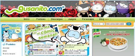 gusanito.com postales tarjetas gratis enviar