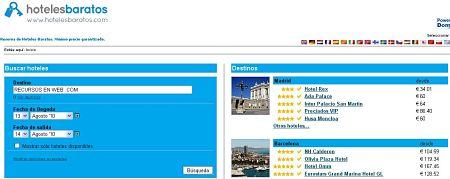 HotelesBaratos.com los hoteles mas baratos de todo el mundo