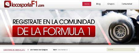Locos por la formula 1 red social sobre formula 1