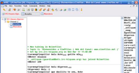 mIRC chat 7.1