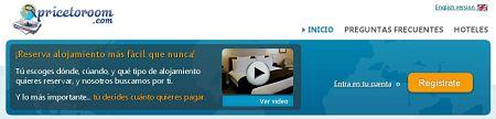 Pricetoroom.com hoteles apartamentos casa rural motel hosteles