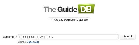 cursos manuales The Guide DB