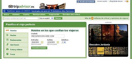 TripAdvisor.es hoteles opiniones criticas viajes