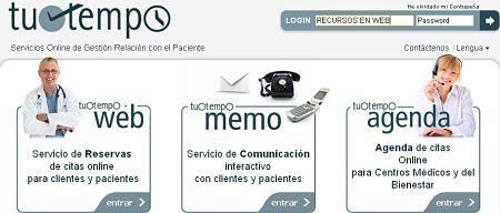 tuotempo servicio online relacion paciente